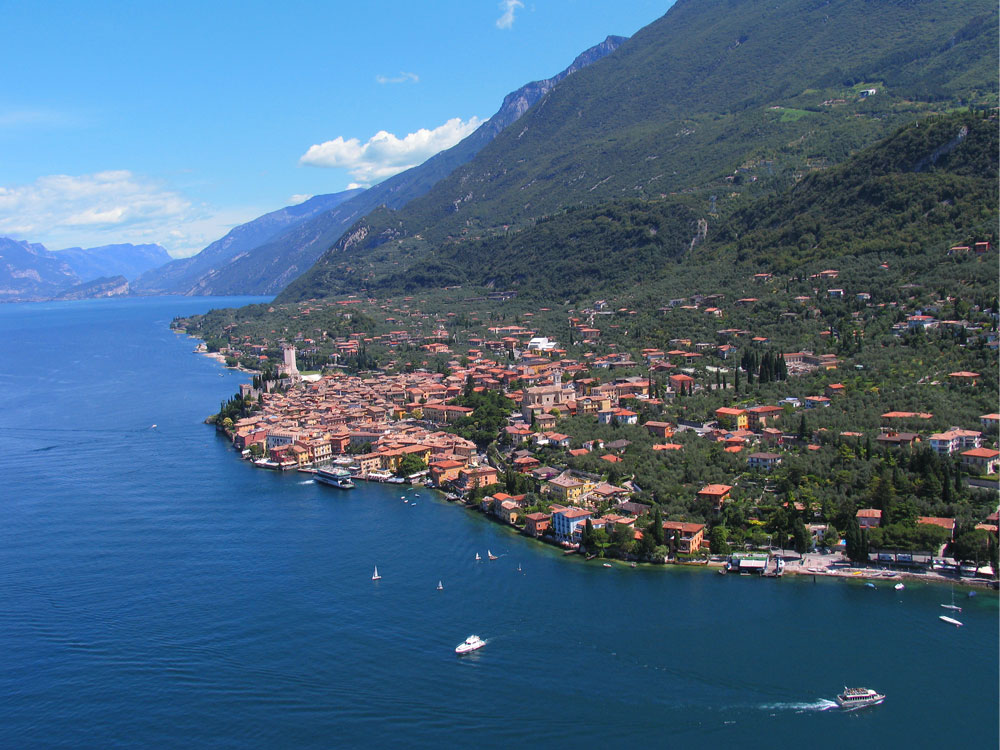 From Limone to Malcesine